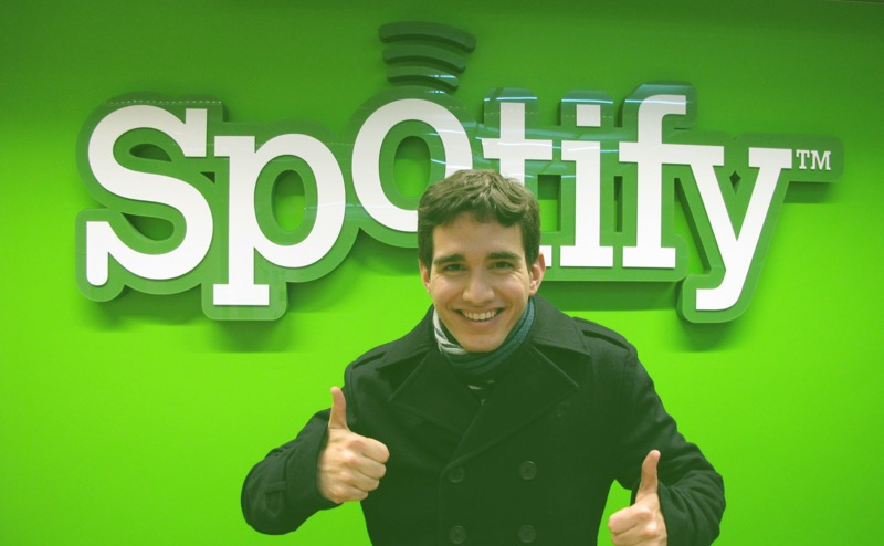 Me being a Spotify fanboy :)